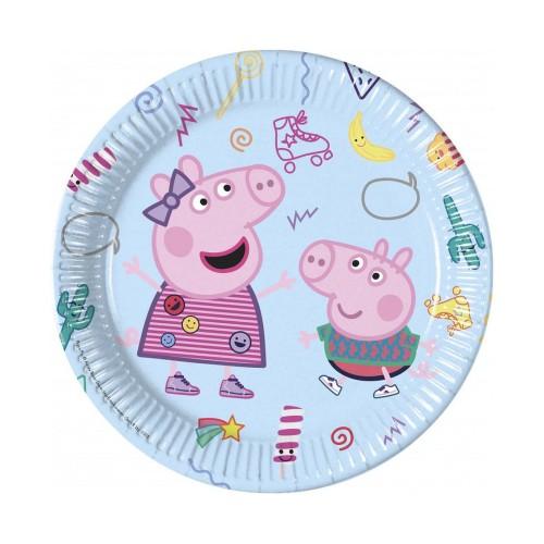 Peppa Pig - plates 20 cm