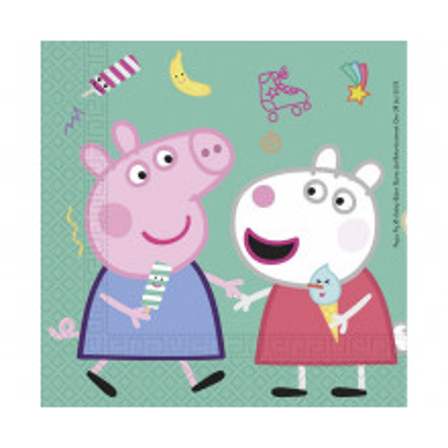 Peppa Pig - napkins 20 pcs