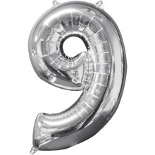 Number 9 - Silver