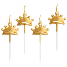 Crown pick candle
