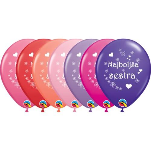 Balloon Najboljša sestra