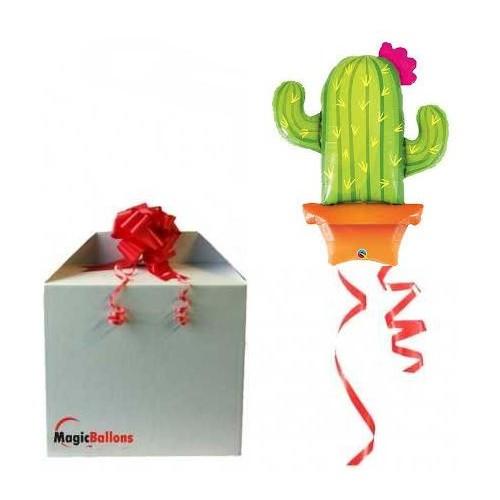 Lonček kaktus - folija balon v paketu