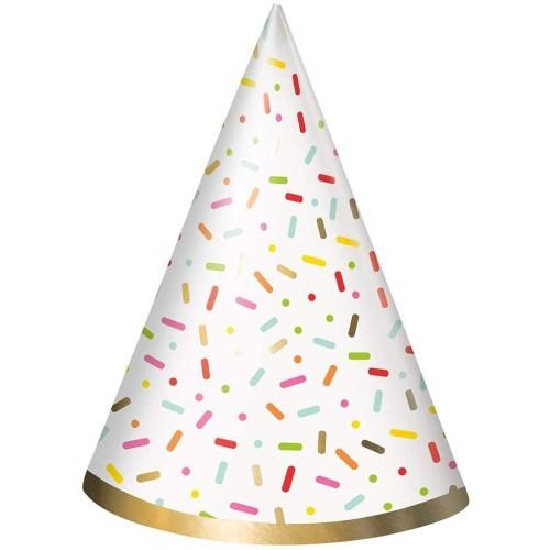 Confetti Cake hats