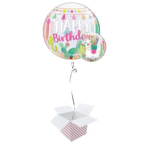 Lama bday party - Helium ballon