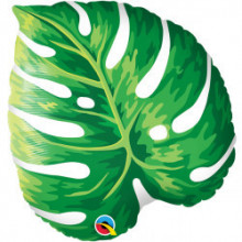 Tropical Philodendron - foil balloon