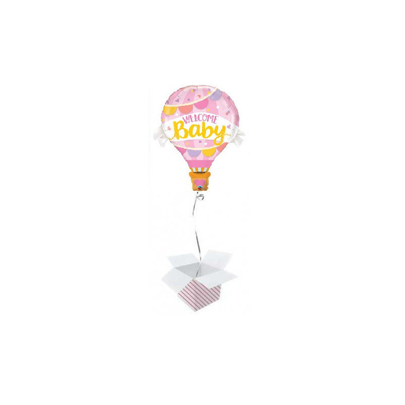 Balloon  Welcome Baby Pink Balloon