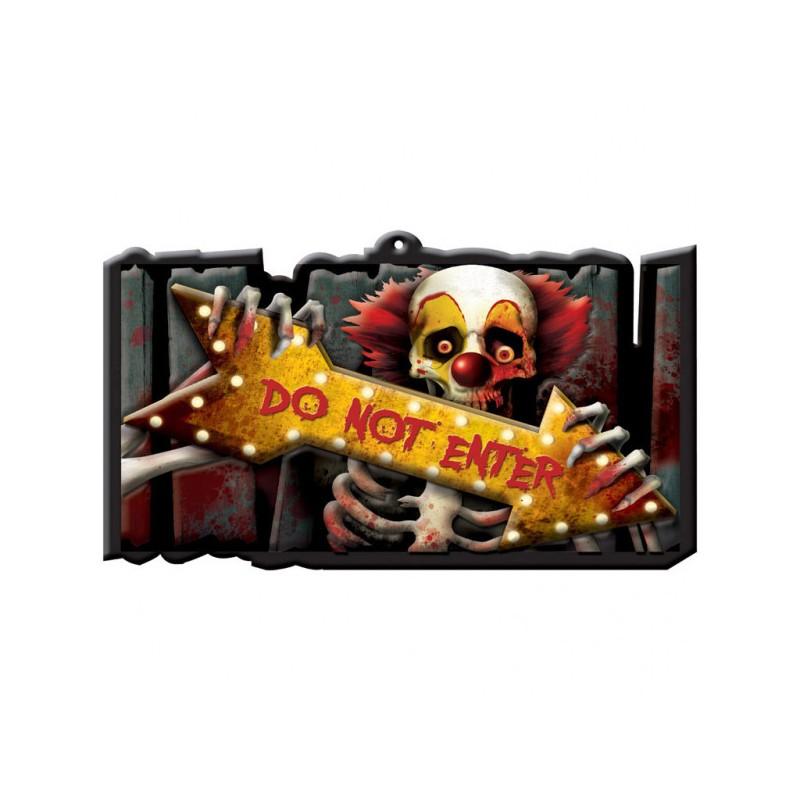 Dekorativni viseči znak - halloween