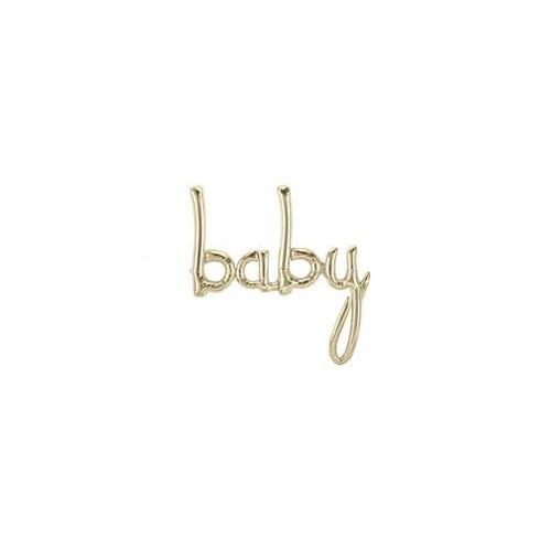 Baby Foil Balloon - gold
