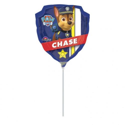 Paw Patrol - foil balloon on a stick