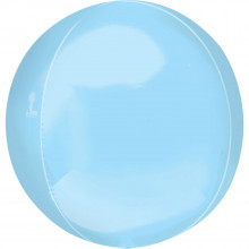 Orbz Pastel blue- foil balloon