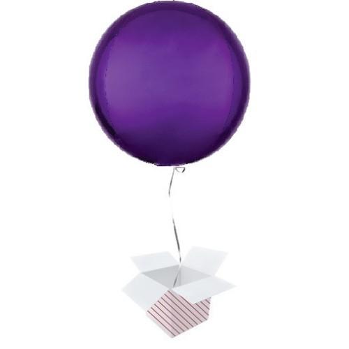 Orbz vijolična folija balon