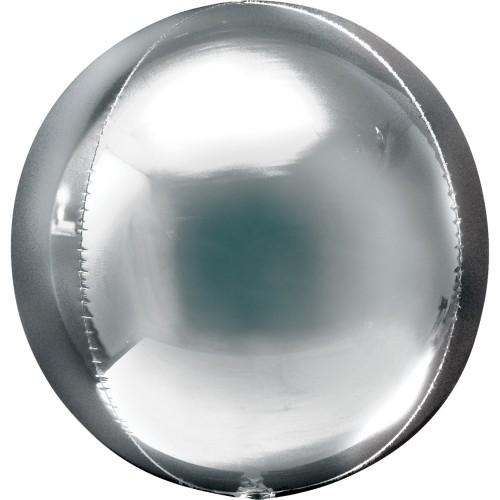 Orbz srebro - folija balon