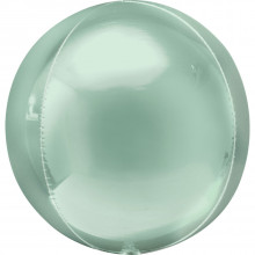 Orbz mint green - foil balloon