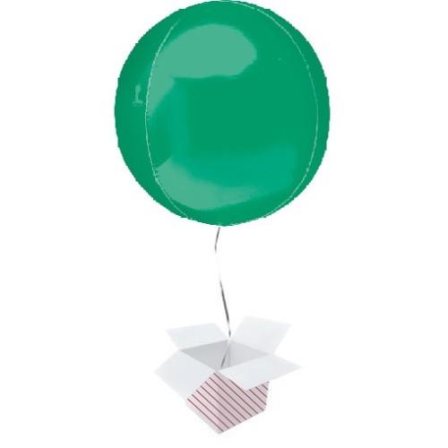 Orbz Green - foil balloon