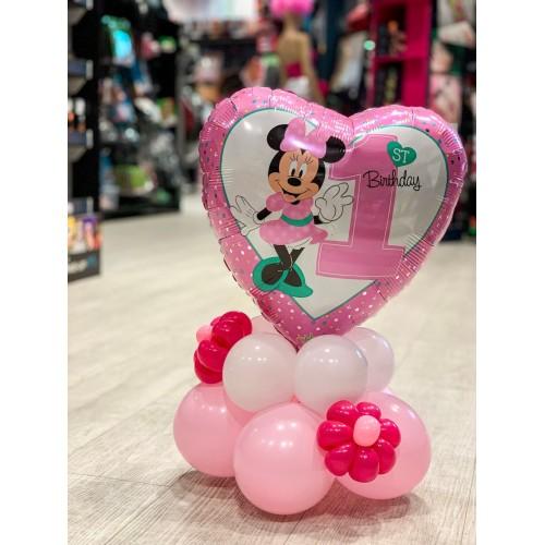 Minnie mouse zum ersten Geburtstag