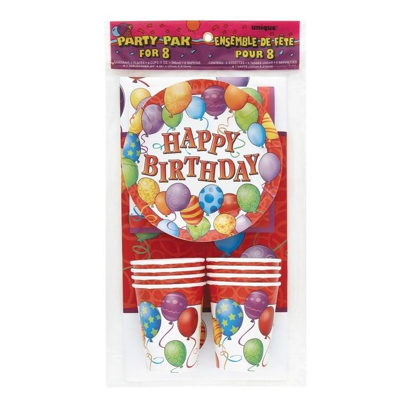 Happy Birthday Balloons- komplet