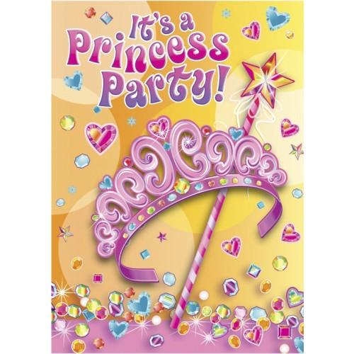 Pretty Princess - invitations