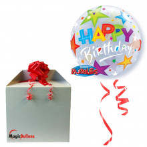 Birthday Brilliant Stars - b.balloon in package