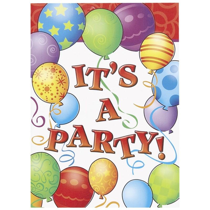 Birthday Balloons- vabila
