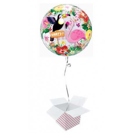 Tropical bday party - b.balloon in package