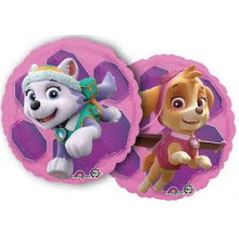 Paw Patrol Skye & Everest - foil balloon