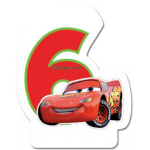 Cars candle 6