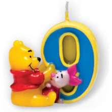Winnie the Pooh Candle 9
