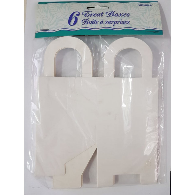 White Treat box