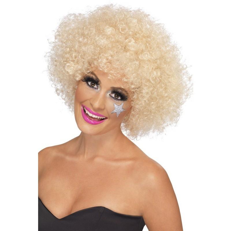 Afro lasulja blond