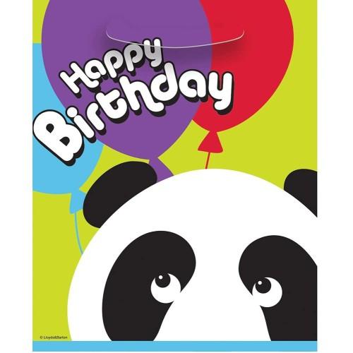 Panda party bags