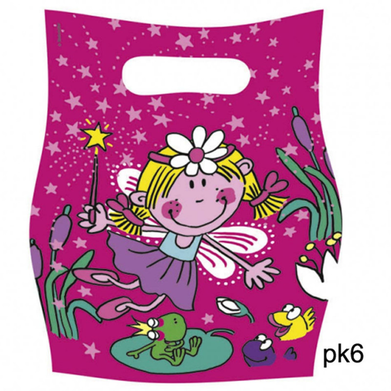 Funky Fairy party pouches