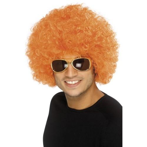 Afro lasulja oranžna