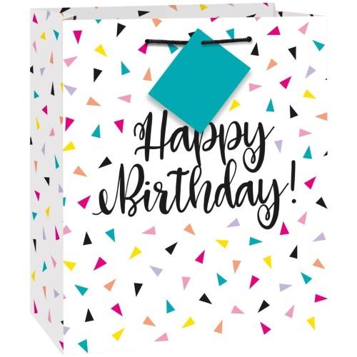 Konfeti Vse najboljše torba za rojstni dan