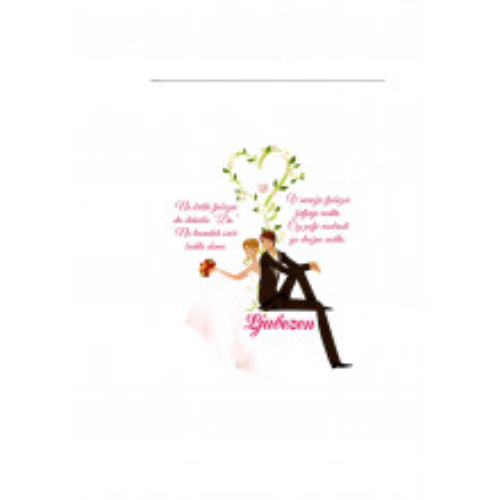 Greeting card - Poroka