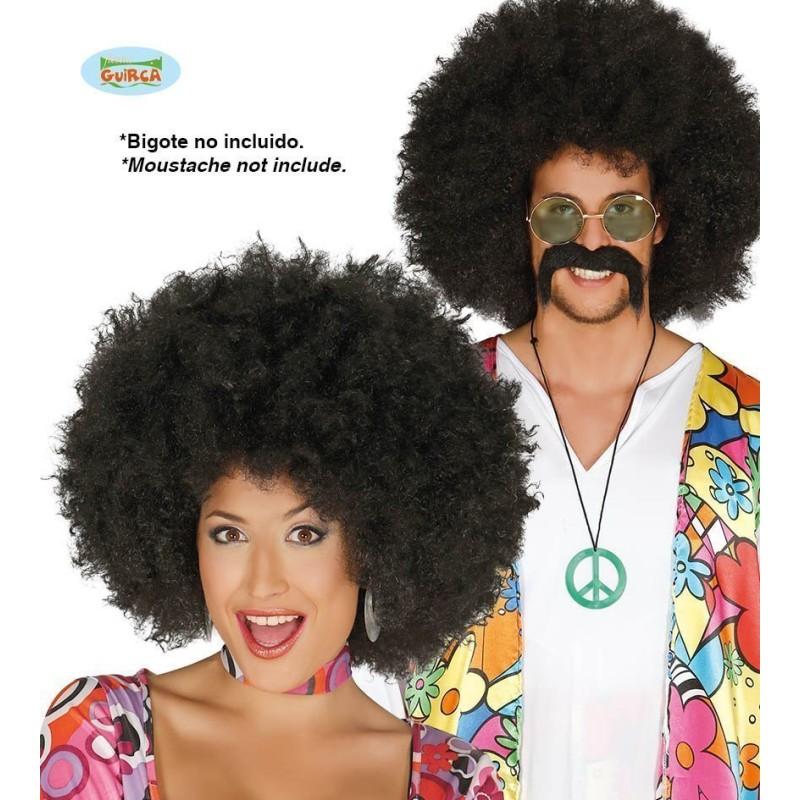 Afro mega lasuljo - črna