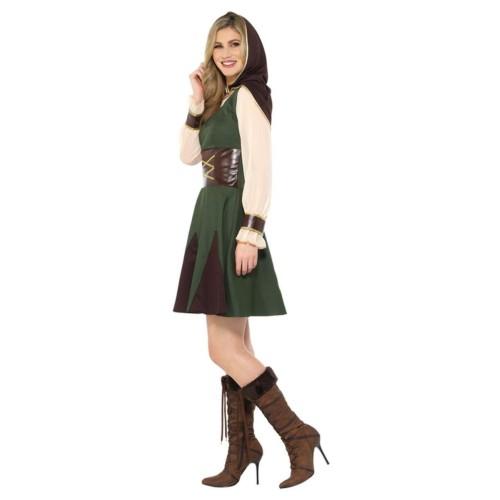 Robin Hoodie Lady Costume
