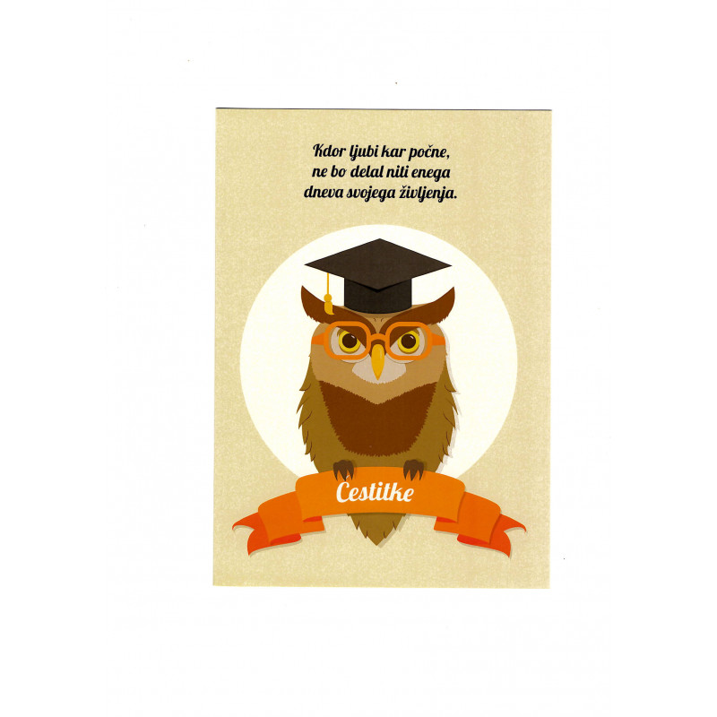Greeting card - Diploma
