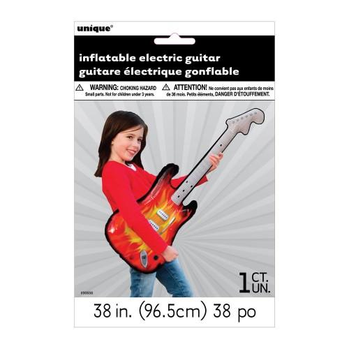 Napihljiva električna kitara