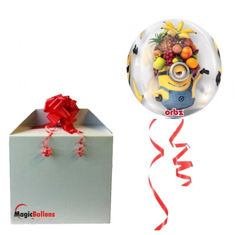 Orbz Minion - foil balloon in paket