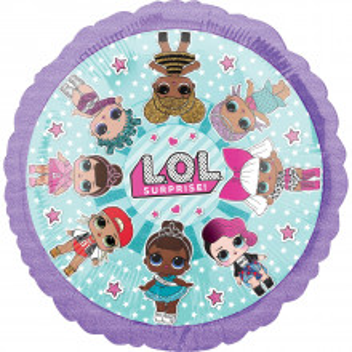 LOL - foil balloon
