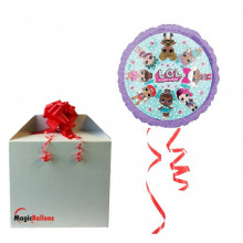 LOL - Folienballon in Paket