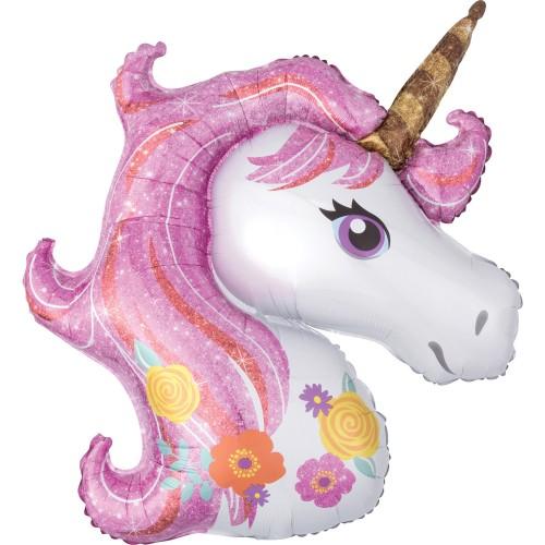 Unicorn - foil balloon