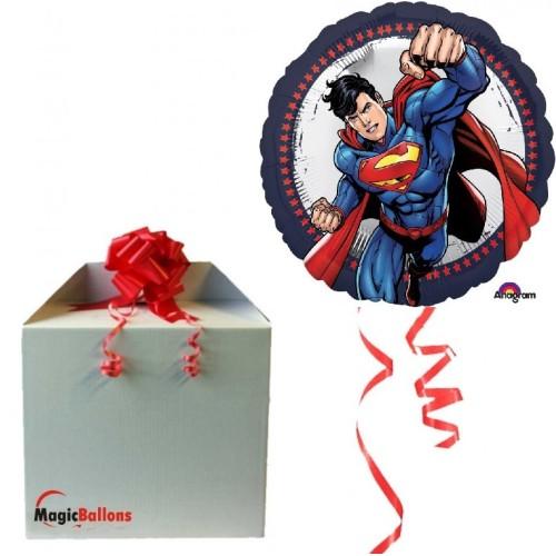 Superman - foil balloon in paket