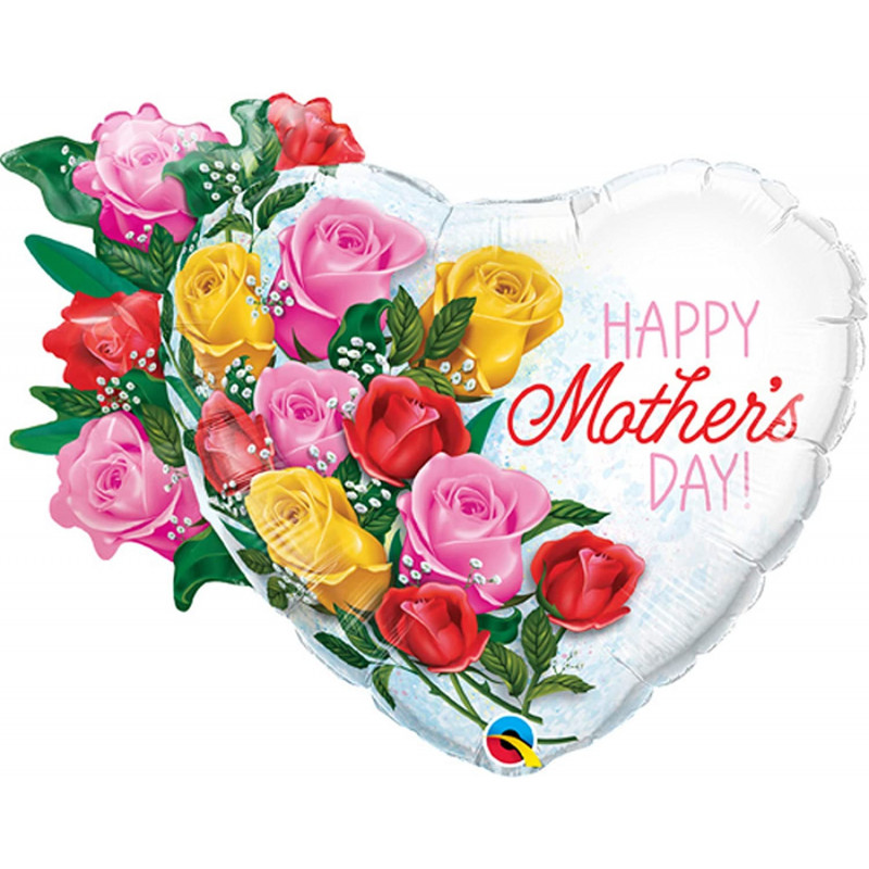 Happy Mothers day - Folienballon