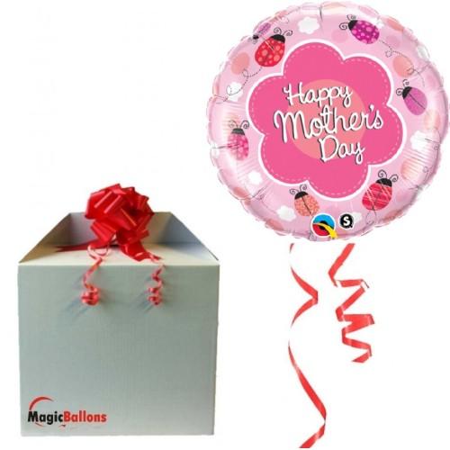 Happy Mothers day - Folienballon In Paket