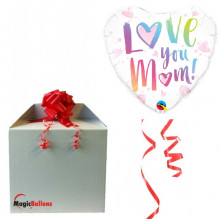 Loye you Mom - Folienballon In Paket