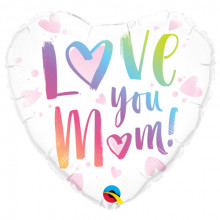 Loye you Mom - Folienballon