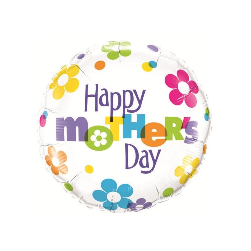 Mother's Day Fun Flowers - folija balon