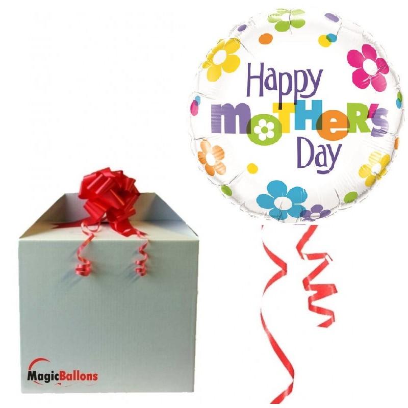 Mother's Day Fun Flowers - Folienballon In Paket