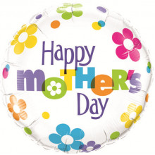 Mother's Day Fun Flowers - foil balloon
